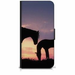 Samsung Galaxy J6 Plus (2018) Plånboksfodral Häst / Horse
