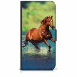 Huawei P Smart (2018) Plånboksfodral Häst / Horse
