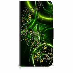 Samsung Galaxy A20s Plånboksfodral Blommor