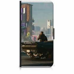 Samsung Galaxy Xcover 3 Plånboksfodral Cyberpunk 2077