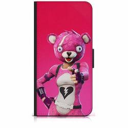Samsung Galaxy A20s Plånboksfodral Fortnite Pink Bear