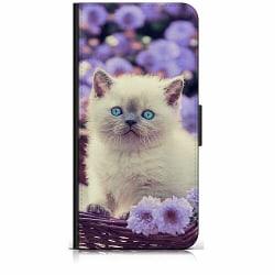 Samsung Galaxy A42 5G Plånboksfodral Katt