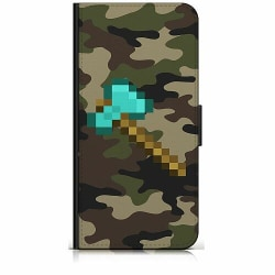 Samsung Galaxy Xcover 3 Plånboksfodral Minecraft
