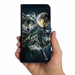 Samsung Galaxy A10 Mobilskalsväska Wolf / Varg