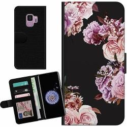 Samsung Galaxy S9 Billigt Fodral Blommor