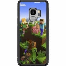 Samsung Galaxy S9 Soft Case (Svart) MineCraft