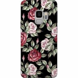 Samsung Galaxy S9 Mjukt skal - Floral Dream