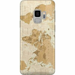 Samsung Galaxy S9 Thin Case Map