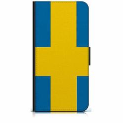 Samsung Galaxy Xcover 3 Plånboksfodral Heja Sverige / Sweden