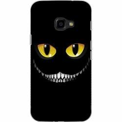 Samsung Galaxy XCover 4 Mjukt skal - Eyes In The Dark Black