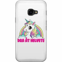 Samsung Galaxy XCover 4 Mjukt skal - Unicorn - Dra Åt @!#