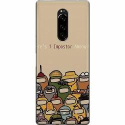 Sony Xperia 1 Mjukt skal - Among Us
