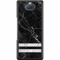 Sony Xperia 10 Hard Case (Svart) Marmor