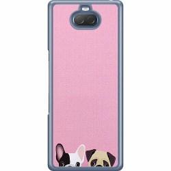 Sony Xperia 10 Hard Case (Transparent) Hundar