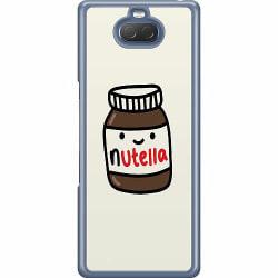 Sony Xperia 10 Hard Case (Transparent) Nutella