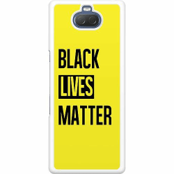 Sony Xperia 10 Hard Case (Vit) Black Lives Matter