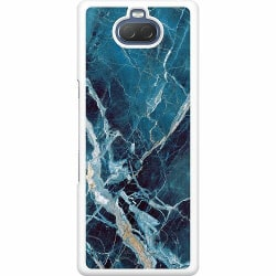 Sony Xperia 10 Hard Case (Vit) Marmor