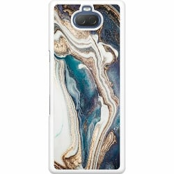 Sony Xperia 10 Hard Case (Vit) Mönster