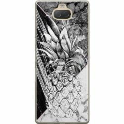 Sony Xperia 10 Plus Mjukt skal - Ananas