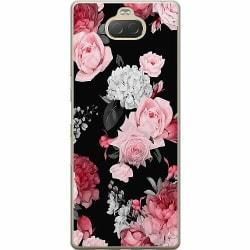 Sony Xperia 10 Plus Mjukt skal - Blommor