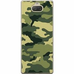 Sony Xperia 10 Plus Mjukt skal - Military