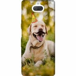 Sony Xperia 10 Plus Mjukt skal - Party Labrador Retriever