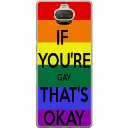 Sony Xperia 10 Plus Mjukt skal - Pride