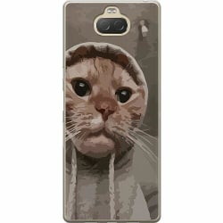 Sony Xperia 10 Plus Thin Case Cat Called