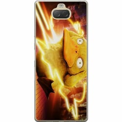 Sony Xperia 10 Plus Thin Case Detective Pikachu - Psyduck