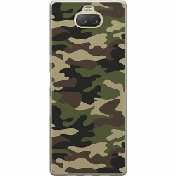 Sony Xperia 10 Plus Thin Case Military