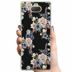 Sony Xperia 10 Plus TPU Mobilskal Blommor
