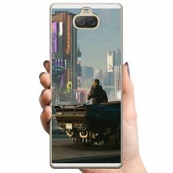 Sony Xperia 10 Plus TPU Mobilskal Cyberpunk 2077