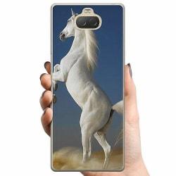 Sony Xperia 10 Plus TPU Mobilskal Häst / Horse