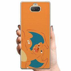 Sony Xperia 10 Plus TPU Mobilskal Pokémon - Charizard
