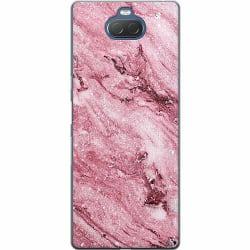 Sony Xperia 10 Thin Case Glitter Marble