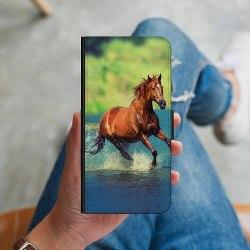 Apple iPhone 8 Plånboksskal Häst / Horse