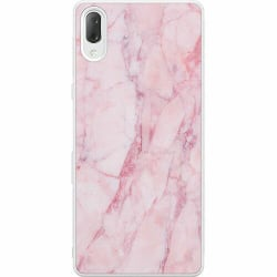 Sony Xperia L3 Soft Case (Vit) Marmor