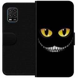 Xiaomi Mi 10 Lite Wallet Case Eyes In The Dark Black