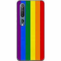 Xiaomi Mi 10 Mjukt skal - Pride Flagga