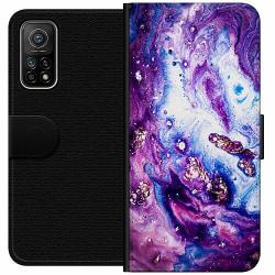 Xiaomi Mi 10T Pro 5G Wallet Case Lila