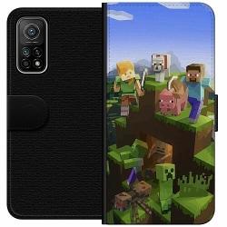 Xiaomi Mi 10T Pro 5G Wallet Case MineCraft