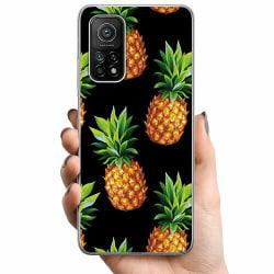 Xiaomi Mi 10T TPU Mobilskal Ananas