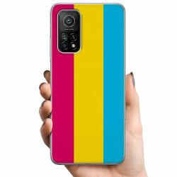 Xiaomi Mi 10T TPU Mobilskal Pride - Pansexual