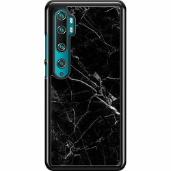 Xiaomi Mi Note 10 Pro Hard Case (Svart) black marble