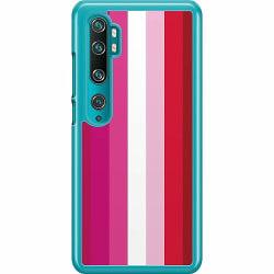 Xiaomi Mi Note 10 Pro Hard Case (Transparent) Pride - Lesbian