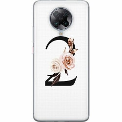 Xiaomi Poco F2 Pro Thin Case Bokstäver