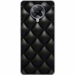 Xiaomi Poco F2 Pro Mjukt skal - Leather Black