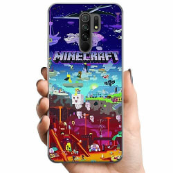 Xiaomi Redmi 9 TPU Mobilskal MineCraft