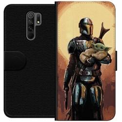 Xiaomi Redmi 9 Wallet Case Baby Yoda
