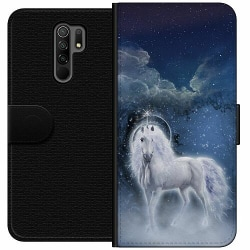 Xiaomi Redmi 9 Wallet Case Magical Horse